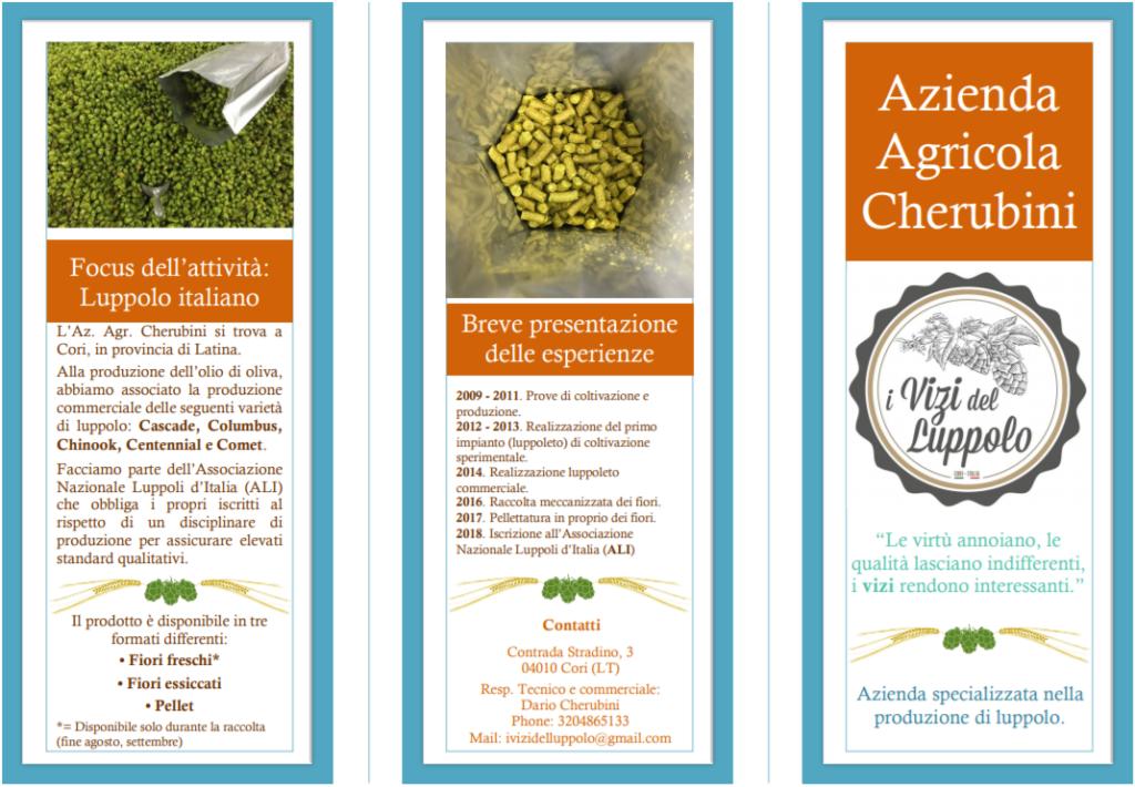 brochure 2019 azienda agricola cherubini