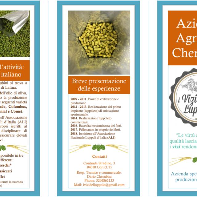 Brochure 2019 Az. Agr. Cherubini